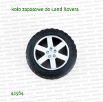 42564 BRUDER Koło zapasowe do Land Rovera