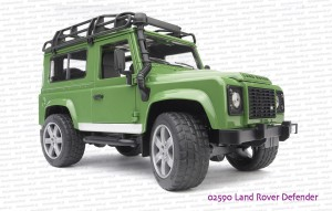 02590 BRUDER Land Rover Defender
