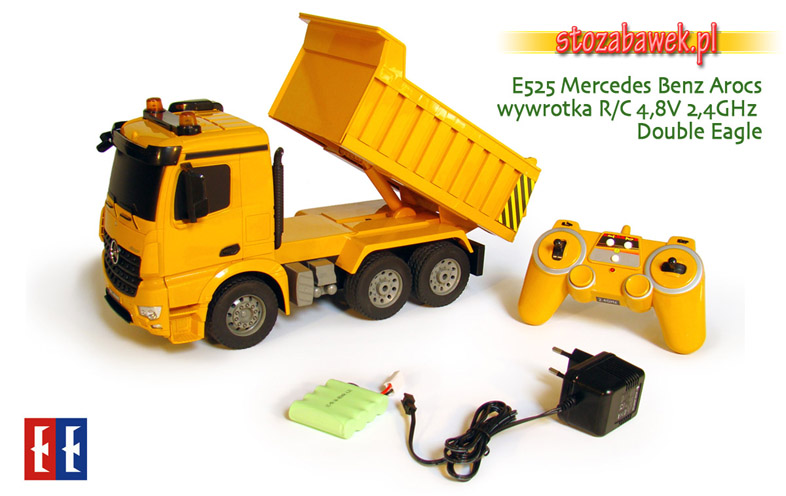 E525 Mercedes Benz Arocs wywrotka R/C 4,8V 2,4GHz Double Eagle