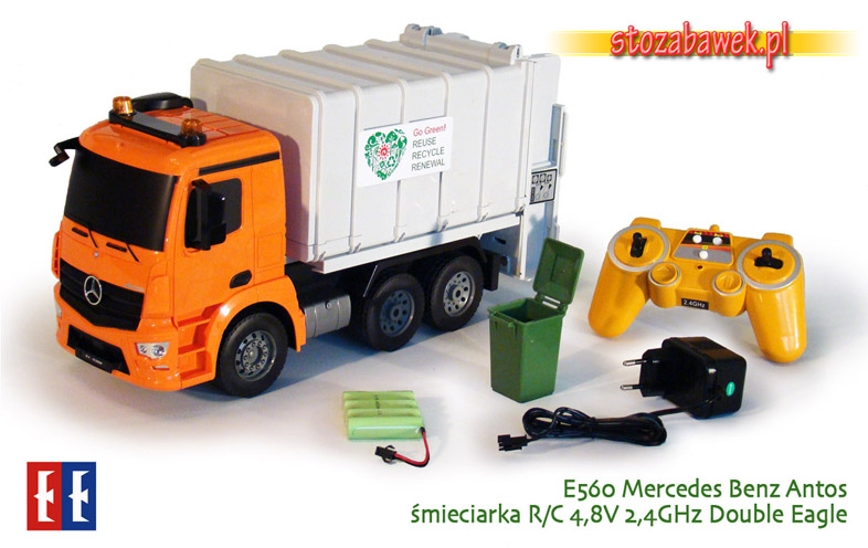 E560 Mercedes Benz Antos śmieciarka r/c Double Eagle